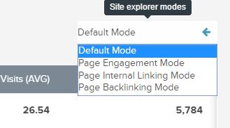 site-explorer-modes