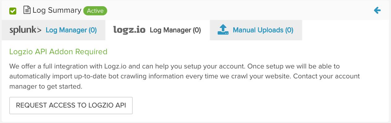 Logz.io integration