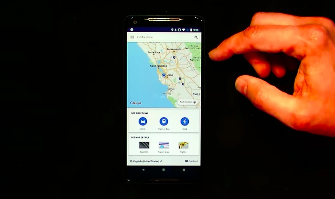 Google Maps PWA live demo