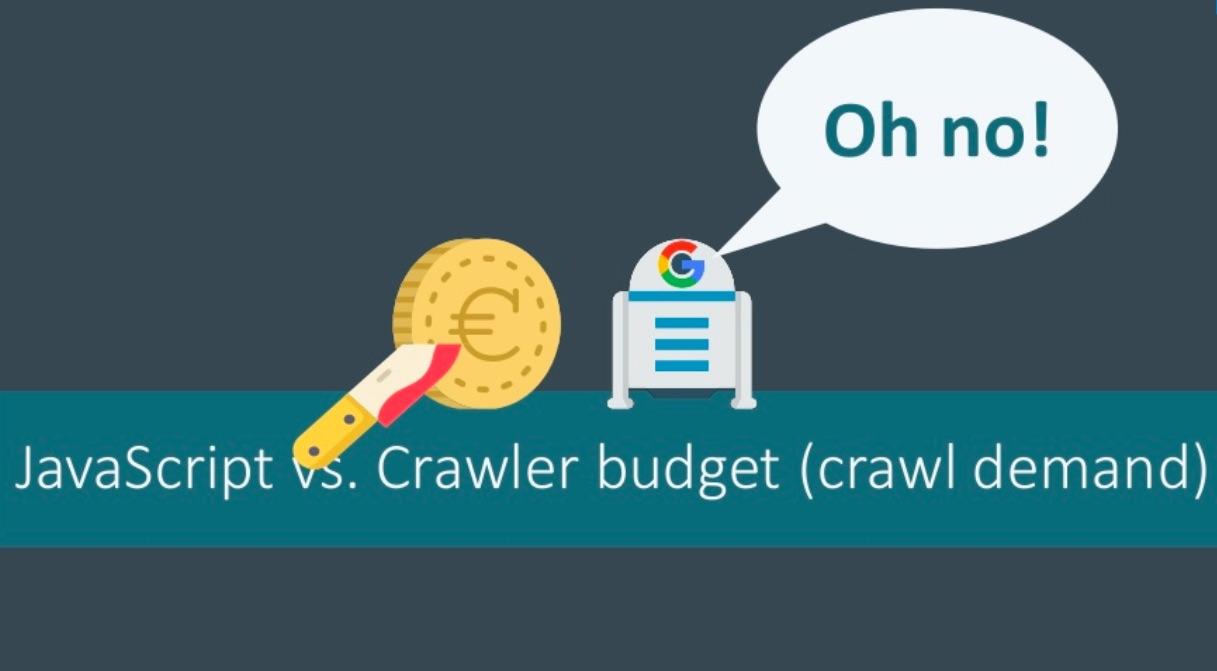 JavaScript vs crawler budget
