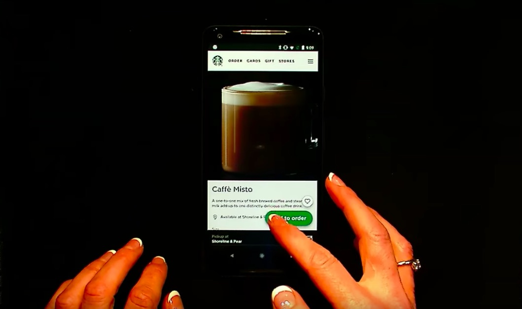Starbucks PWA demo