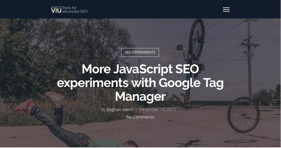 Eoghan Henn JavaScript Experiments
