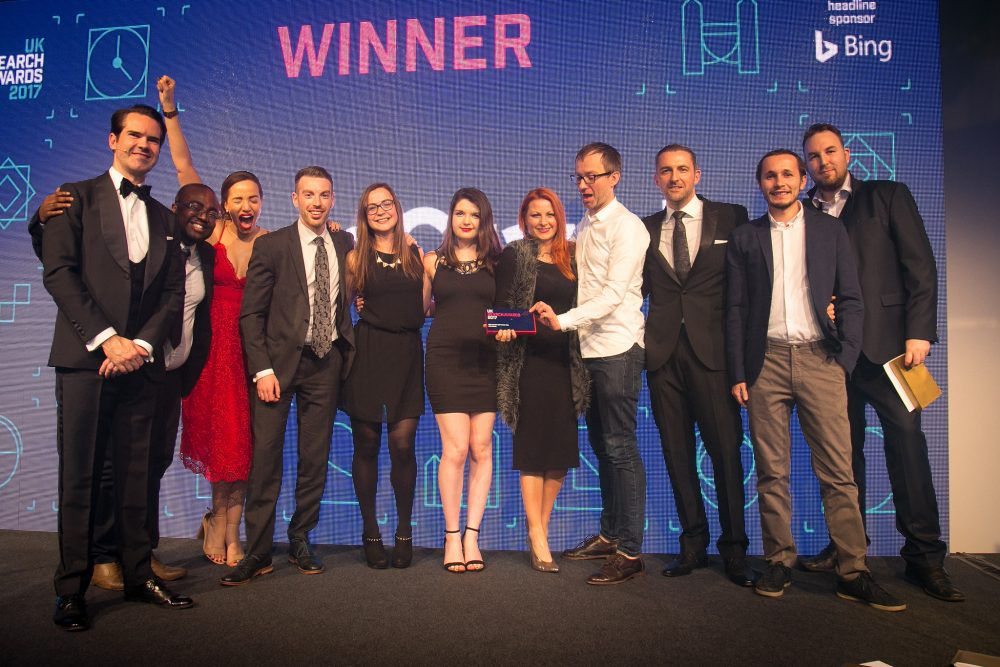 DeepCrawl win Best Search Software at UK Search Awards 2017