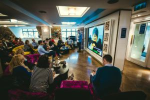Alec Bertram from Allotment Digital at DeepCrawl digital breakfast on 22nd October 2015