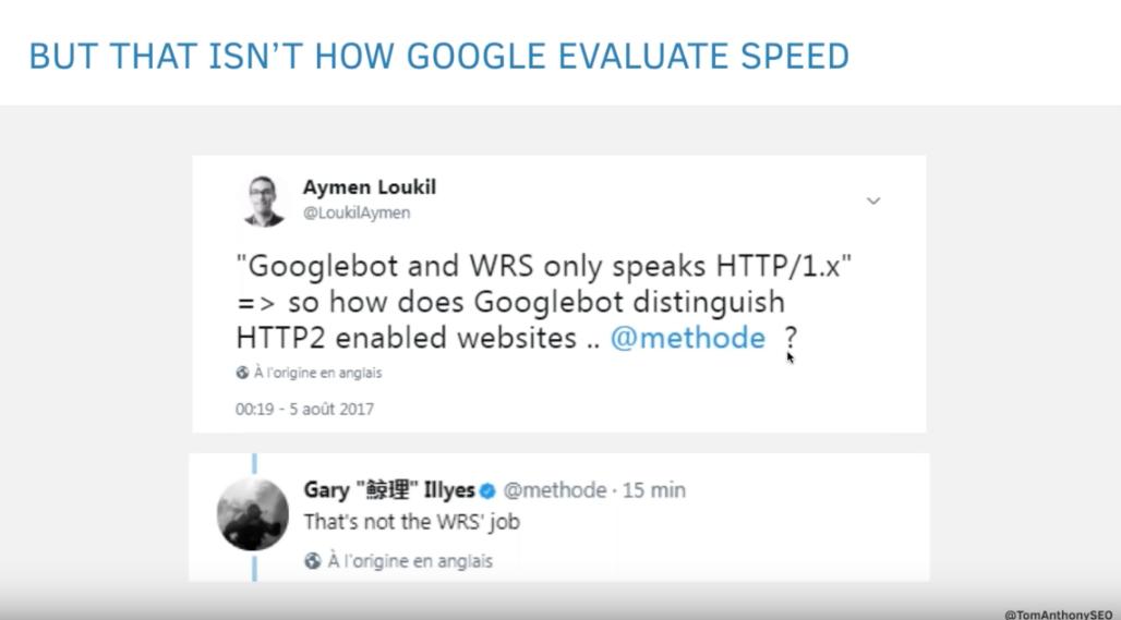 Googlebot HTTP/2