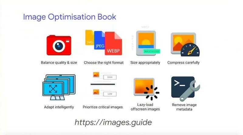 Addy Osmani image optimisation ebook