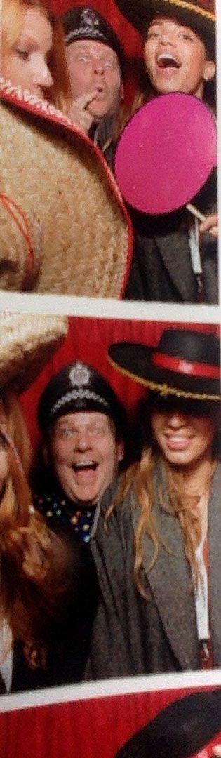 Jennifer Hoffman, Alyssa Ordu & Dom Hodgson embrace eclectic hat wear. Don't judge us.
