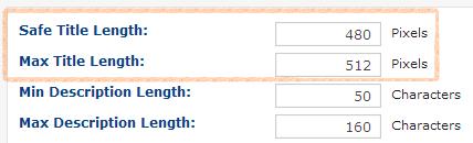 content set your_preferred title tags DeepCrawl