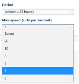 Max Speed
