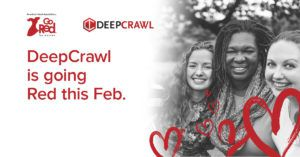 DeepCrawl's Go Red Charity Campaign