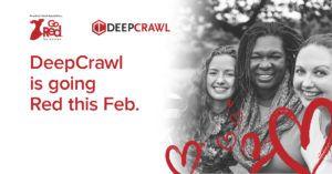 DeepCrawl's Go Red Charity Campaign