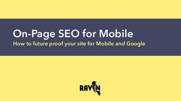 Jon Henshaw: On-Page SEO for Mobile