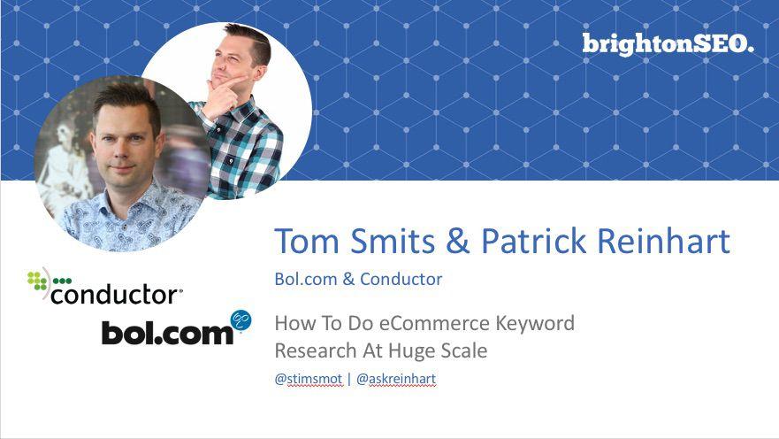 Patrick Reinhart & Tom Smits deck