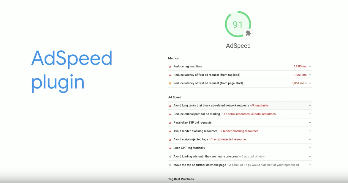 AdSpeed Plugin