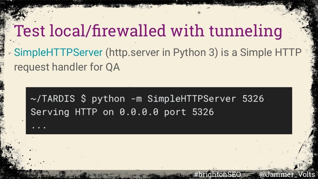 Python render trap test code