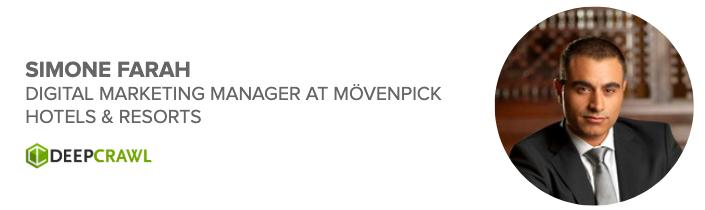 Simone Farah, Digital Marketing Manager at Mövenpick Hotels & Resorts