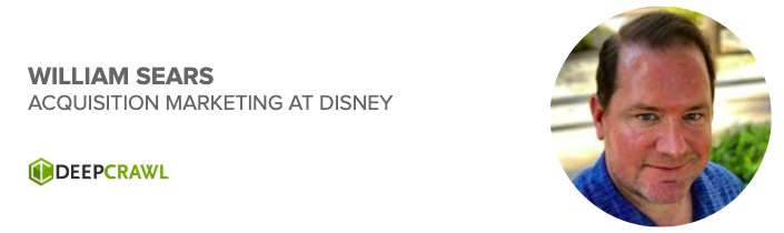 William Sears, Acquisition Marketing at Disney