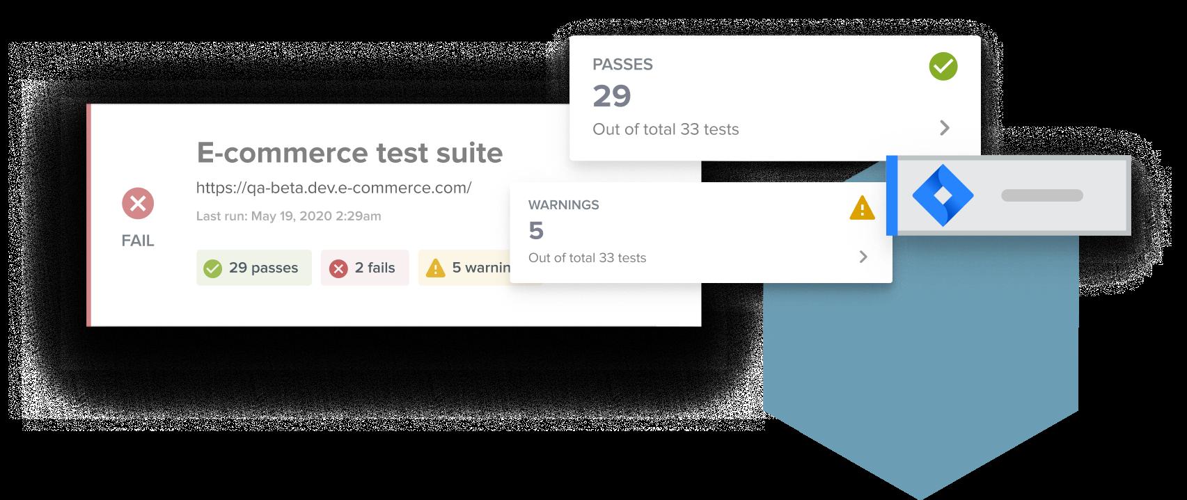 Application screenshot representation