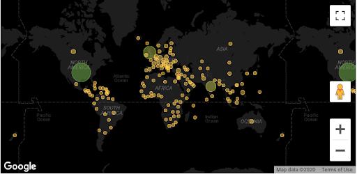 traffic by location