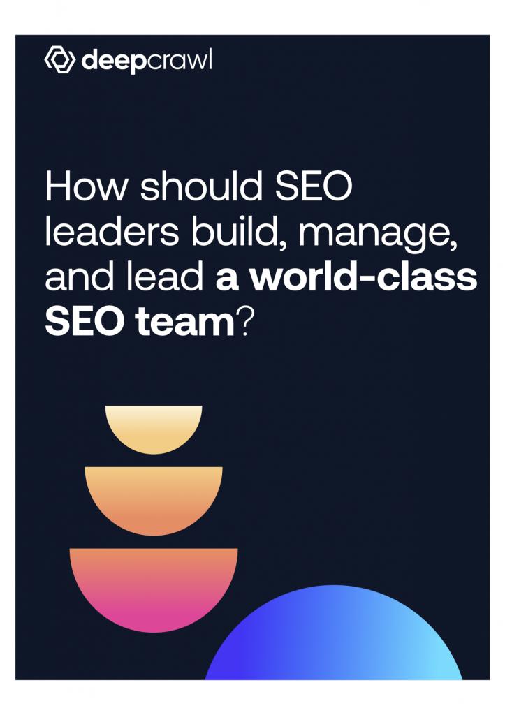 SEO Leadership eBook