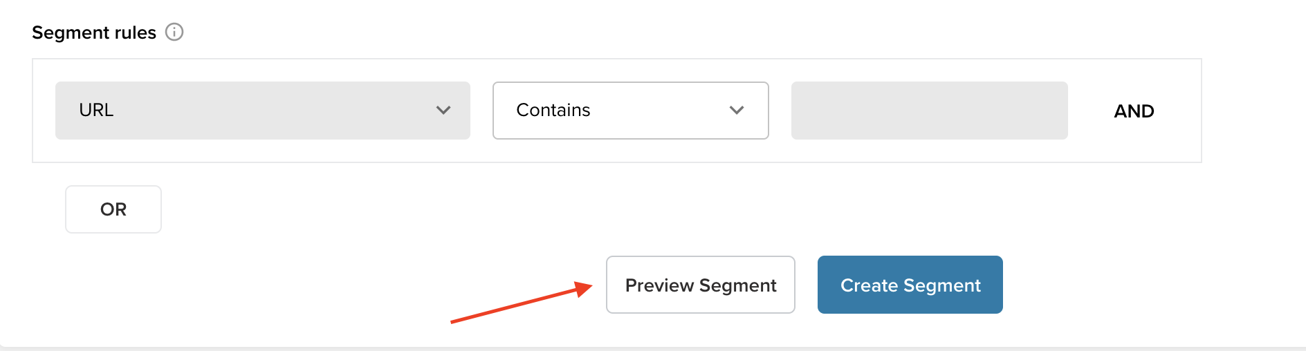 How to preview a segment before crawling your website with Deepcrawl